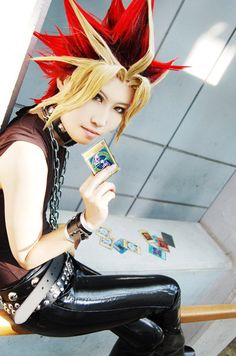 Yami Yugi (Yugioh)- Awesome cosplay, and I don't even like Yugioh.