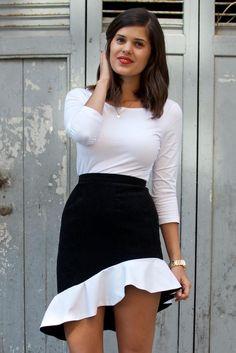 DIY Balenciaga Inspired Ruffle Skirt