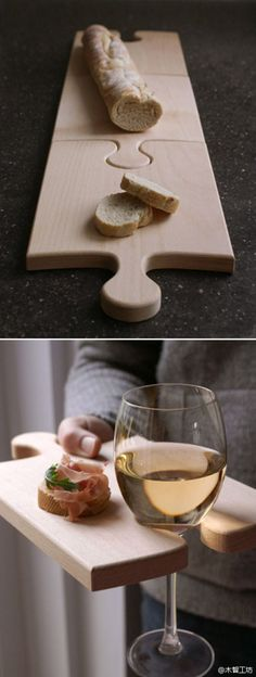 I love the look of puzzle pieces! 18 Creative And Useful Popular DIY Ideas Woodworking Plans, Woodworking Projects, Popular Woodworking, Wood Crafts, Diy And Crafts, Diy Wood, Ideas Paso A Paso, Wood Projects, Projects To Try