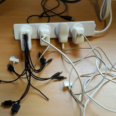 #Charging #Station  #chargers #cargadores #cables #office #oficina   Http://DanielMayor.Com