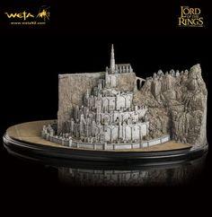 Herr der Ringe Diorama Minas Tirith
