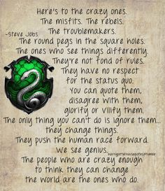 Harry Potter House Quotes- i think this could go with ravenclaw too. Or all of them, mainly ravenclaw<----SLYTHERIN PRIDE Slytherin Quotes, Slytherin Harry Potter, Slytherin House, Slytherin Pride, Harry Potter Houses, Harry Potter World, Ravenclaw, Hogwarts Houses, House Quotes