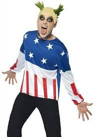 Mens Party Starter Prodigy Keith Fancy Dress Music Costume by Smiffys for sale online 90s Costume, Costume Dress, Halloween Costumes, Halloween Party, Christmas Costumes, Adult Halloween, Costumes For Sale, Adult Costumes, Funny Costumes