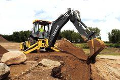 The new 710L: John Deere's largest backhoe gets a power boost | Equipment World | Construction Equipment, News and Information | Heavy Construction Equipment