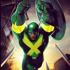 Captain Jamaica...just think that this is cool.