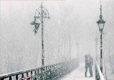 Ukraine, Kyiv, bridge of lovers.