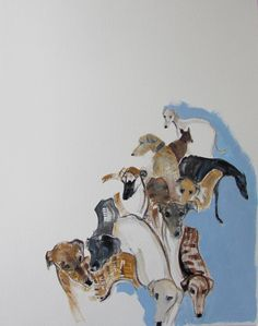 Galgos by Sally Muir