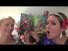 """""""Rock Star Santa"""" read aloud by Story Time With Amber And Erin - YouTube"""