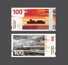 Norways New Banknotes by Snohetta & The Metric System