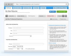 ResumeCompanion.com  all you have to do is indicate what position you're applying for, and it will give you tons of smart-sounding phrases to describe the type of work you've done at previous employers. And it's all free!