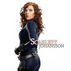 Scarlett Johansson Wallpaper from the Avengers Movie