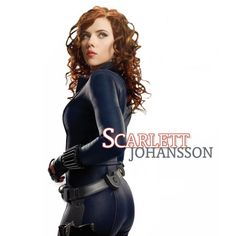 Marvel's Black Widow -- Scarlett Johansson