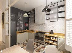 Kuchnia styl Skandynawski - zdjęcie od Krystyna Regulska Architektura Wnętrz