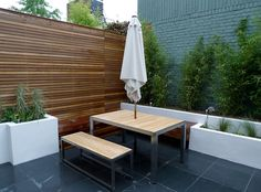 hardwood privacy screen fence - Google Search