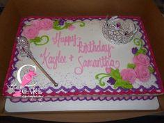 Princess birthday cake Bakery Cakes, Princess Birthday, Birthday Cakes, Desserts, Recipes, Kids, Food, Tailgate Desserts, Young Children