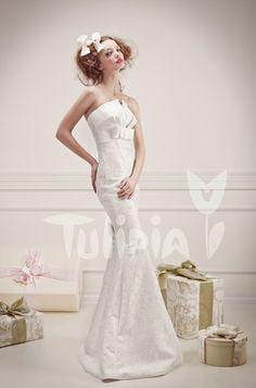 Tulipia Happy - Dalida One Shoulder Wedding Dress, Wedding Dresses, Happy, Fashion, Bride Dresses, Moda, Bridal Gowns, Fashion Styles, Weeding Dresses