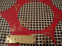 Unique Anne Klein Custom Gold Guild Wallet Clutch Handbags 18 kt #AnneKlein #Wallet
