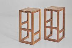 Design Barhocker Holz - Barhocker Step von vitamin design