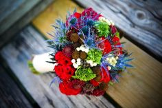 Wonderful Winter Bouquets, Wedding Flowers Photos by Blue Lotus Floral