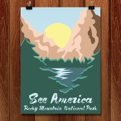 Rocky Mountain National Park by Giselle Rocha