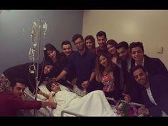 Star Academy Arabia 11 زيارة الطلاب لسهيلة بن لشهب في المستشفى