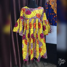 Very nice and beautiful African Wear Dresses, African Fashion Ankara, Latest African Fashion Dresses, African Print Fashion, African Attire, Nigerian Outfits, African Blouses, African Traditional Dresses, Ankara Dress