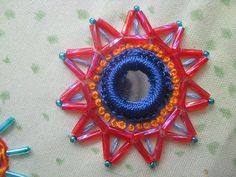 August Stitch Along detail 1 Machine Embroidery Thread, Basic Embroidery Stitches, Hand Embroidery Tutorial, Hand Work Embroidery, Indian Embroidery, Brazilian Embroidery, Embroidery Jewelry, Beaded Embroidery, Embroidery Patterns