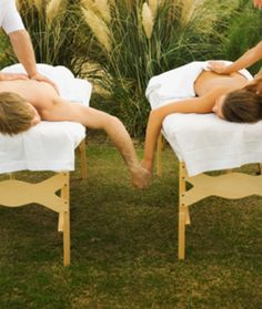 Ever had a couples massage?  You can book one to arrive at your location!  http://www.soulfulindulgence.com