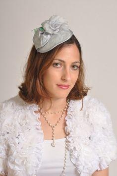 Luce blu cappello cocktail per le donne cappello da di RanaHats
