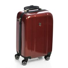 Heys USA Burgundy 20-inch Hardside Carry-on Spinner Upright | Overstock.com Shopping - Great Deals on Heys USA Carry On Uprights