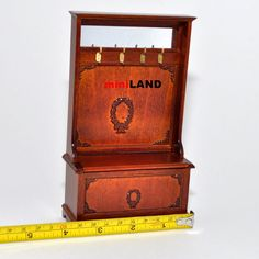 Coat Rack Hall Stand for 1:12 Scale dollhouse by Victoriaminiland