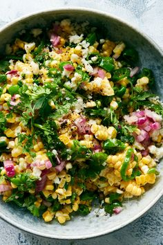 Spicy Corn and Shishito Salad Recipe - NYT Cooking Vegetarian Recipes, Cooking Recipes, Healthy Recipes, Vegetable Recipes, Fresco, Clean Eating, Healthy Eating, Lime Vinaigrette, Stuffed Green Peppers
