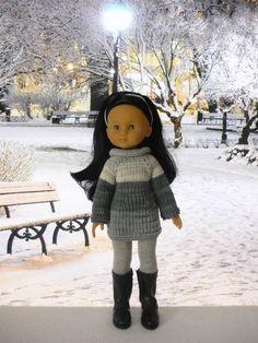 Pull manches raglan pour poupée Chérie: 1) http://marieetlaines.canalblog.com/archives/2016/01/25/32745914.html 2) http://p0.storage.canalblog.com/08/21/1066432/106810987.pdf