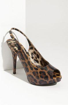 Dolce & Gabbana 'Lily' Slingback Pump #fashion #shoes