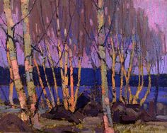 Tom Thomson Evening, Canoe Lake, winter oil on canvas x The Thomson Collection © Art Gallery of Ontario Emily Carr, Canada Landscape, Landscape Art, Landscape Paintings, Canadian Painters, Canadian Artists, Dulwich Picture Gallery, Art Gallery Of Ontario, Paintings I Love