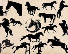 Image result for horse head tree free svg