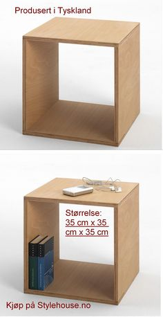 Simple and useful table is the most suitable for low beds and modern sofas. Modern Sofa, Cube, Simple, Home Decor, Homemade Home Decor, Modern Couch, Decoration Home, Interior Decorating