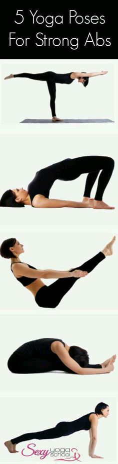 5 Yoga Poses For Strong Abs!