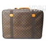 Louis Vuitton Monogram Satellite 60 Travel Suitcase Luggage Bag