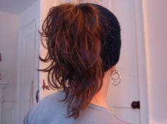Ponytail Hat Navy Blue by sparkling74 on Etsy, $10.00