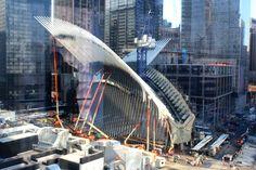 Santiago Calatrava's Oculus World Trade Center transportation hub slated to open in June