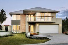 Bonitas y modernas Fachadas de Dos Plantas – Fachadas de Casas