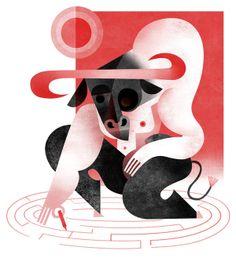 Personal work 2012 by Maria Corte Maidagan, via Behance    http://www.behance.net/gallery/Personal-work-2012/4188223#
