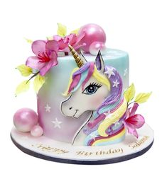 Goat Cheese Cake with Hazelnut, Easy and Cheap - Clean Eating Snacks Unicorn Birthday Parties, Unicorn Party, Birthday Cake, Unicorn Cakes, Bolo My Little Pony, Cakes In Dubai, Cold Cake, Cheap Clean Eating, Bakery Cakes