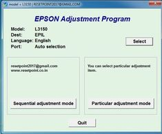 Epson adjustment program Resetter software for Service required Error remove tool Epson Resetter for printer shows waste ink pad counter overflow Epson Inkjet Printer, Number Generator, Password Manager, Red Led Lights, Reset Button, Programing Software, Printer Driver, Beautiful Nature Wallpaper, English
