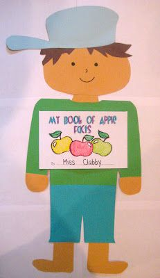 Kindergarten Smiles: Johnny Appleseed and TPT apple unit