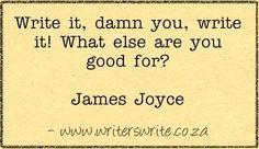 Quotable - James Joyce