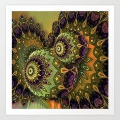 Lucy in the Sky With Diamonds Art Print by Desirée Glanville - $19.50