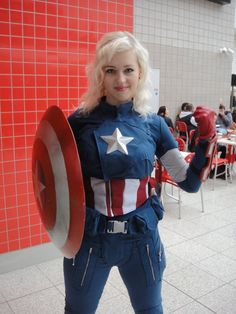Celebrate the Art of Rule 63 Captain America Cosplays