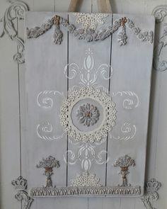 Ornamenten decoratie bord....love it! ♡♡♡